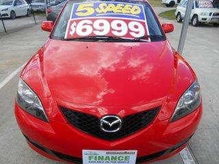 2008 Mazda 3 BK10F2 MY08 Neo Sport Red 5 Speed Manual Hatchback.
