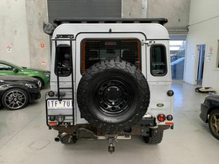 2009 Land Rover Defender 110 09MY Silver 6 Speed Manual Wagon