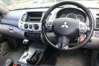 2010 Mitsubishi Triton MN MY10 GLX-R (4x4) White 5 Speed Automatic 4x4 Double Cab Utility