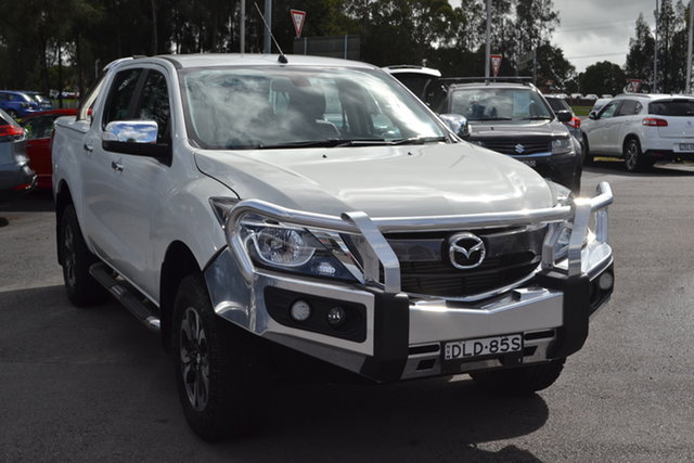 Used Mazda BT-50 UR0YG1 GT Maitland, 2016 Mazda BT-50 UR0YG1 GT White 6 Speed Sports Automatic Utility