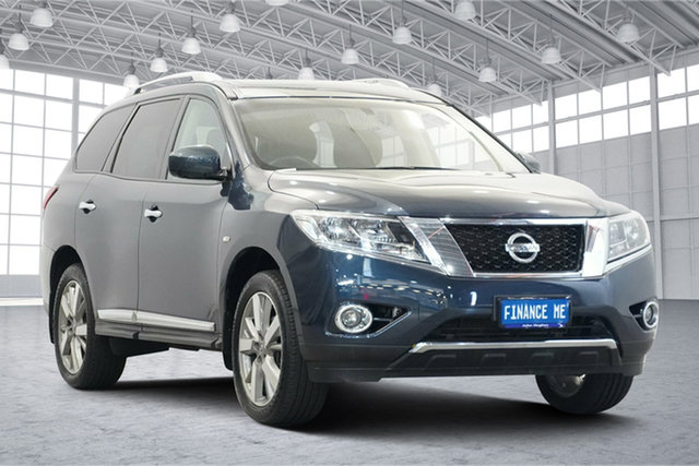 Used Nissan Pathfinder R52 Series II MY17 Ti X-tronic 4WD Victoria Park, 2017 Nissan Pathfinder R52 Series II MY17 Ti X-tronic 4WD Blue 1 Speed Constant Variable Wagon