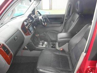 2005 Mitsubishi Pajero Exceed Red 5 Speed Automatic Wagon