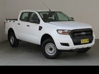 2017 Ford Ranger PX MkII MY17 XL 2.2 Hi-Rider (4x2) Frozen White 6 Speed Automatic Crew Cab Pickup
