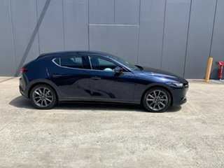 2020 Mazda 3 BP2HLA G25 SKYACTIV-Drive GT Deep Crystal Blue 6 Speed Sports Automatic Hatchback.