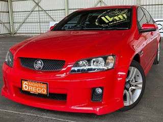 2008 Holden Commodore VE MY09 SV6 Red 5 Speed Sports Automatic Sedan.