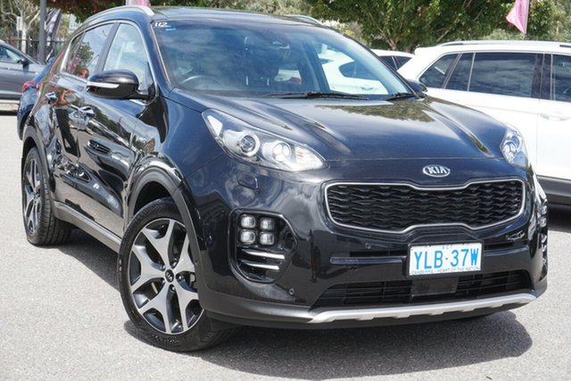 Used Kia Sportage QL MY17 GT-Line AWD Phillip, 2016 Kia Sportage QL MY17 GT-Line AWD Black 6 Speed Sports Automatic Wagon