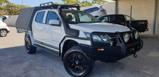 2017 Holden Colorado RG MY17 LS Crew Cab White 6 Speed Sports Automatic Cab Chassis.