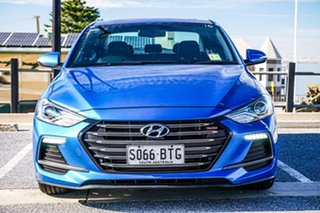 2017 Hyundai Elantra AD MY17 SR DCT Turbo Blue 7 Speed Sports Automatic Dual Clutch Sedan