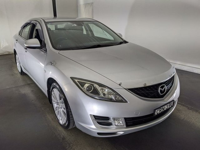 Used Mazda 6 GH1051 MY09 Classic Maryville, 2009 Mazda 6 GH1051 MY09 Classic Silver 5 Speed Sports Automatic Sedan