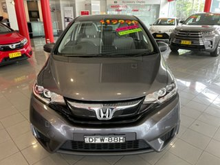 2016 Honda Jazz GF MY16 VTi Grey 1 Speed Constant Variable Hatchback