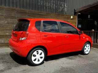 2008 Holden Barina TK MY08 Red 4 Speed Automatic Hatchback