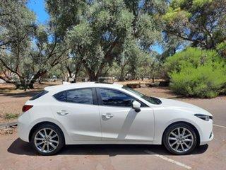 2018 Mazda 3 BN5438 SP25 SKYACTIV-Drive Astina White 6 Speed Sports Automatic Hatchback.