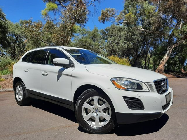 Used Volvo XC60 DZ MY13 D4 Geartronic Teknik Adelaide, 2012 Volvo XC60 DZ MY13 D4 Geartronic Teknik White 6 Speed Sports Automatic Wagon