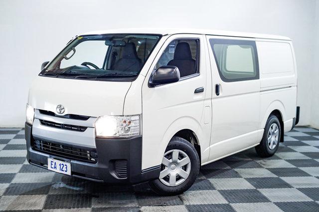 Used Toyota HiAce KDH201R LWB Edgewater, 2016 Toyota HiAce KDH201R LWB White 4 Speed Automatic Van