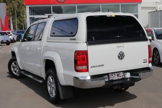 2013 Volkswagen Amarok 2H MY14 TDI400 4Mot Highline White 6 Speed Manual Utility