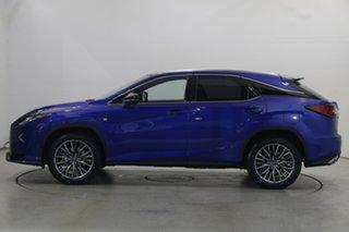 2017 Lexus RX GGL25R RX350 F Sport Cobalt 8 Speed Sports Automatic Wagon.