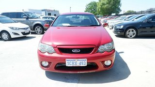 2006 Ford Falcon BF Mk II XR6 Red 4 Speed Sports Automatic Sedan.