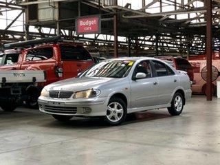 2003 Nissan Pulsar N16 Q Silver 4 Speed Automatic Sedan.
