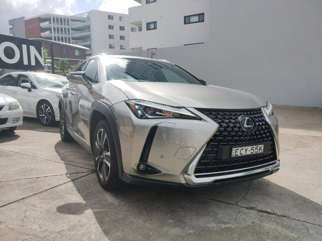 Used Lexus UX Goulburn, 2019 Lexus UX UX200 - Sport Luxury Silver Constant Variable Hatchback