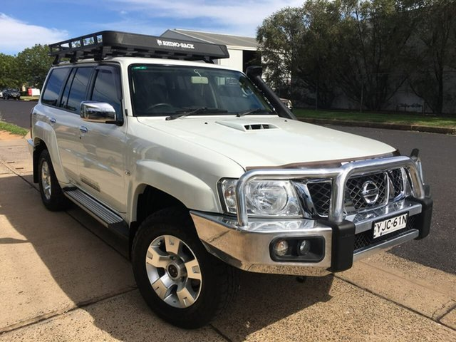Used Nissan Patrol ST Dubbo, 2016 Nissan Patrol Y61 ST White Automatic