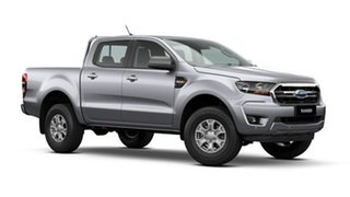 2021 Ford Ranger PX MkIII 2021.25MY XLS Aluminium Silver 6 Speed Sports Automatic Pick Up