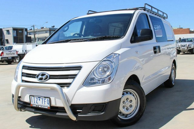 Used Hyundai iLOAD TQ3-V Series II MY17 Coburg North, 2016 Hyundai iLOAD TQ3-V Series II MY17 White 5 Speed Automatic Van