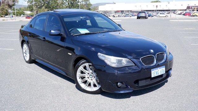Used BMW 5 Series E60 MY07 525i Steptronic Maddington, 2007 BMW 5 Series E60 MY07 525i Steptronic Blue 6 Speed Sports Automatic Sedan