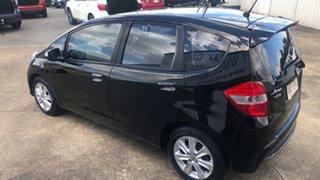 2012 Honda Jazz GE MY12 Vibe Black 5 Speed Automatic Hatchback.