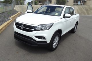 2020 Ssangyong Musso Q200 MY20.5 ELX Crew Cab White 6 Speed Manual Utility.