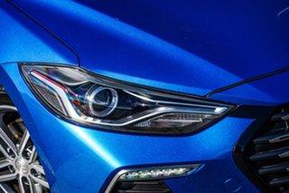 2017 Hyundai Elantra AD MY17 SR DCT Turbo Blue 7 Speed Sports Automatic Dual Clutch Sedan