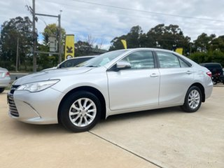 2017 Toyota Camry Altise Silver Sports Automatic Sedan.