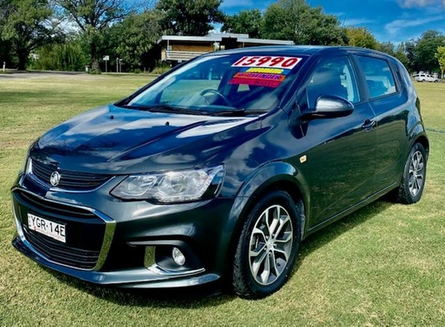 Used Holden Barina TM MY17 LS Tamworth, 2017 Holden Barina TM MY17 LS Grey 6 Speed Automatic Hatchback