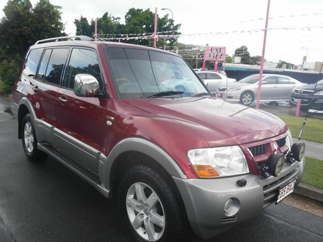 Used Mitsubishi Pajero Exceed Margate, 2005 Mitsubishi Pajero Exceed Red 5 Speed Automatic Wagon