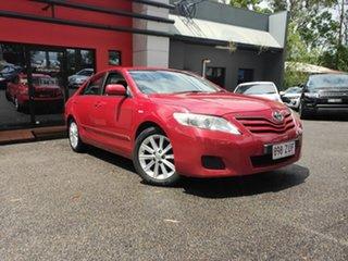 2010 Toyota Camry ACV40R MY10 Altise Metallic Red 5 Speed Automatic Sedan.