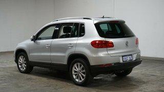 2012 Volkswagen Tiguan 5N MY13 155TSI DSG 4MOTION Silver 7 Speed Sports Automatic Dual Clutch Wagon.
