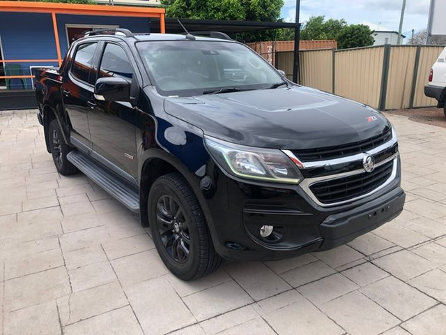 Used Holden Colorado RG MY17 Z71 Pickup Crew Cab Mundingburra, 2016 Holden Colorado RG MY17 Z71 Pickup Crew Cab Black 6 Speed Sports Automatic Utility