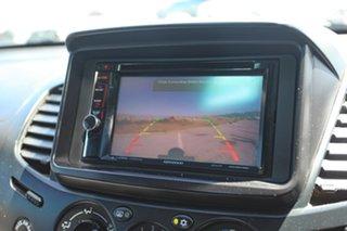 2010 Mitsubishi Triton MN MY10 GLX-R Double Cab Grey 5 Speed Manual Utility.