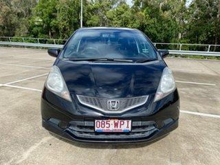 2008 Honda Jazz GE VTi-S Black 5 Speed Automatic Hatchback