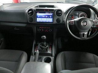 2012 Volkswagen Amarok 2H MY12 TDI400 4Mot White 6 Speed Manual Cab Chassis