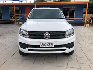 2019 Volkswagen Amarok 2H MY20 TDI420 4MOTION Perm Core White 8 Speed Automatic Utility.