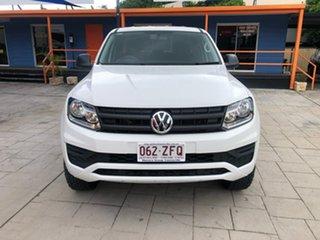 2019 Volkswagen Amarok 2H MY20 TDI420 4MOTION Perm Core White 8 Speed Automatic Utility.