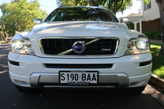 2013 Volvo XC90 P28 MY14 R-Design Geartronic White 6 Speed Sports Automatic Wagon