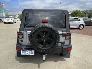 2013 Jeep Wrangler JK MY2014 Sport Silver 5 Speed Automatic Softtop