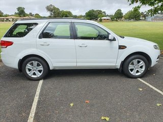 2013 Ford Territory SZ TX Seq Sport Shift White 6 Speed Sports Automatic Wagon.