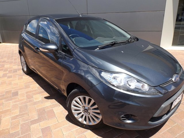 Used Ford Fiesta WT LX PwrShift Toowoomba, 2012 Ford Fiesta WT LX PwrShift Grey 6 Speed Sports Automatic Dual Clutch Hatchback