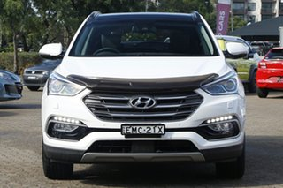 2016 Hyundai Santa Fe DM Series II (DM3)MY17 Highlander CRDi (4x4) White 6 Speed Automatic Wagon