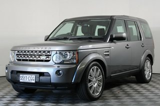2009 Land Rover Discovery 4 Series 4 10MY TdV6 CommandShift SE Grey 6 Speed Sports Automatic Wagon