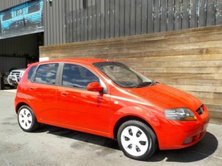 2008 Holden Barina TK MY08 Red 4 Speed Automatic Hatchback.