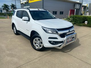 2019 Holden Trailblazer RG MY19 LT White 6 Speed Sports Automatic Wagon.