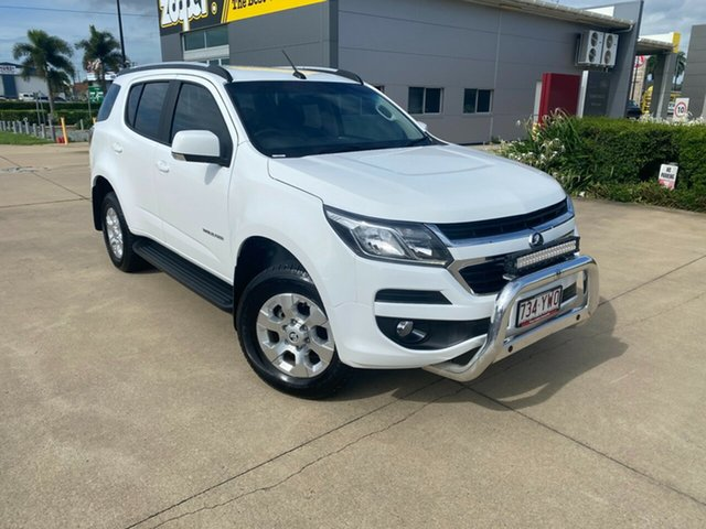 Used Holden Trailblazer RG MY19 LT Townsville, 2019 Holden Trailblazer RG MY19 LT White 6 Speed Sports Automatic Wagon